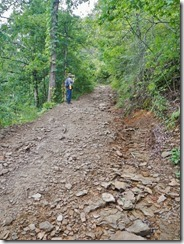 Lute Mountain Road appears impassable