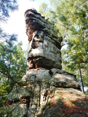 Pedestal at Chimney Rx