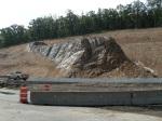 Jackfork Sandstone at Big Rock Interchange