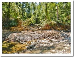Alluvial fan in Tick Creek