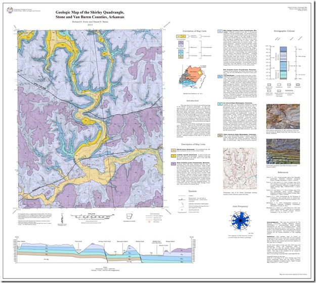 STATEMAP Field Blog June 30 2014  Arkansas Geological