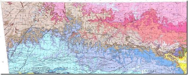 Geologic Map of Arkansas-detail