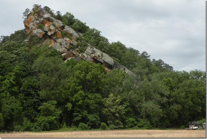 dardanelle rock from river